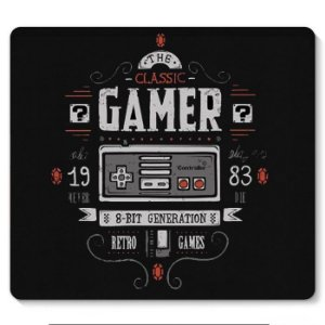 Mouse Pad Gamer Nintendo