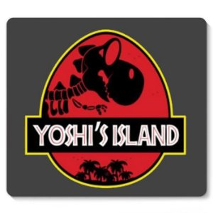 Mouse Pad Yoshi's Island - Nerd e Geek - Presentes Criativos