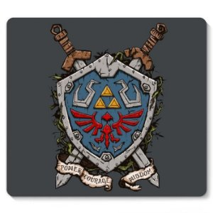 Mouse Pad Escudo Link