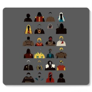 Mouse Pad Game of Thrones - Nerd e Geek - Presentes Criativos