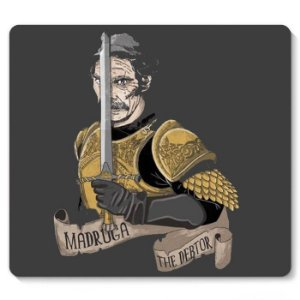 Mouse Pad Madruga The Doctor - Nerd e Geek - Presentes Criativos