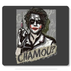 Mouse Pad Chamou? - Nerd e Geek - Presentes Criativos