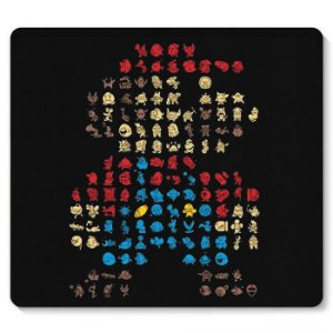 Mouse Pad Super Mario - Nerd e Geek - Presentes Criativos