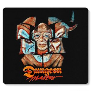 Mouse Pad Caverna do Dragão - Nerd e Geek - Presentes Criativos