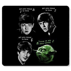 Mouse Pad The Beatles Yoda