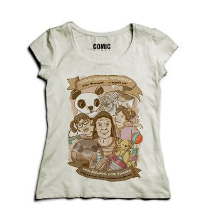 Camiseta Feminina Chaves - Nerd e Geek - Presentes Criativos