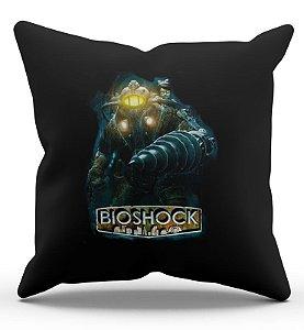 Almofada Decorativa  Bioshock 45x45 - Nerd e Geek - Presentes Criativos