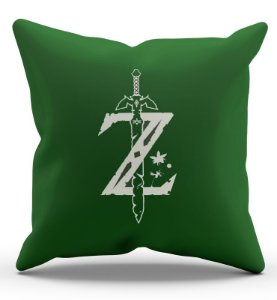 Almofada Decorativa  Zelda 45x45 - Nerd e Geek - Presentes Criativos