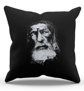 Almofada Decorativa  Gandalf 45x45 - Nerd e Geek - Presentes Criativos