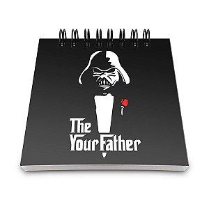 Bloco de Anotações Darth Vader - The your Father