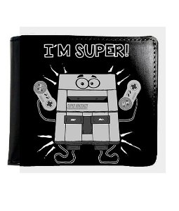 Carteira I'm Super Nintendo - Nerd e Geek - Presentes Criativos