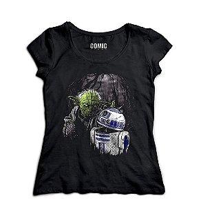 Camiseta Feminina Star Wars Zumbi