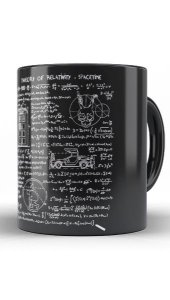 Caneca Theory of Relativity Space Time - Nerd e Geek - Presentes Criativos
