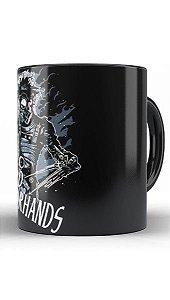 Caneca Edward Mãos de Tesoura - Nerd e Geek - Presentes Criativos
