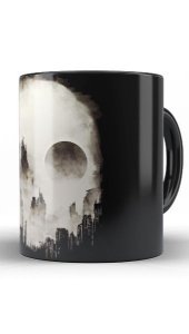 Caneca Skull City - Nerd e Geek - Presentes Criativos