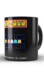 Caneca Pac-Man - Nerd e Geek - Presentes Criativos