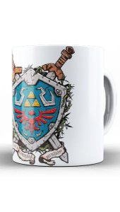 Caneca Link - Video Game - Nerd e Geek - Presentes Criativos