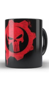 Caneca Gears of War - Nerd e Geek - Presentes Criativos