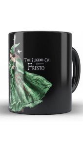 Caneca The Legend of Presto - Nerd e Geek - Presentes Criativos
