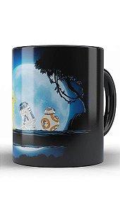 Caneca Star Wars: R2D2 C3PO BB8