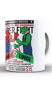 Caneca  Mario vs Luigi