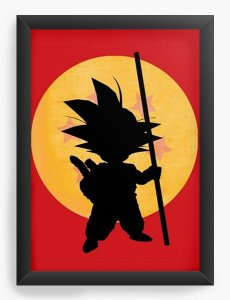 Quadro Decorativo Dragon Ball Goku - Nerd e Geek - Presentes Criativos