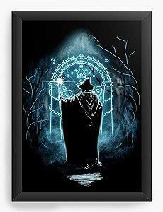 Quadro Decorativo Gandalf - O Senhor dos Anéis - Nerd e Geek - Presentes Criativos