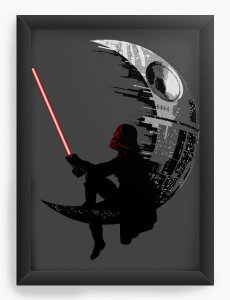 Quadro Decorativo  Star Wars Death Star