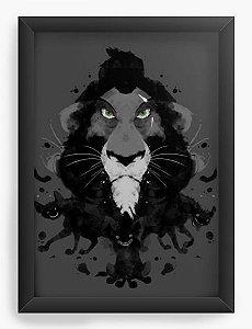 Quadro Decorativo Rei Leão Scar