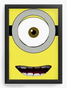 Quadro Decorativo Minions - Nerd e Geek - Presentes Criativos