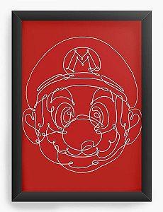Quadro Decorativo Super Mario Bros - Nerd e Geek - Presentes Criativos