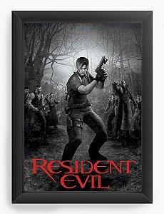 Quadro Decorativo Resident Evil