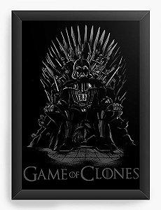Quadro Decorativo Game of Clones