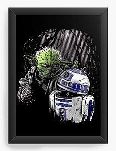 Quadro Decorativo Star Wars Zumbi