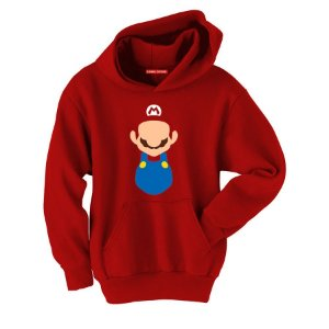 Blusa com Capuz Super Mario - Game
