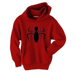 Blusa com Capuz Homem Aranha
