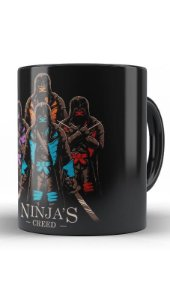 Caneca Tartarugas Ninjas - Nerd e Geek - Presentes Criativos