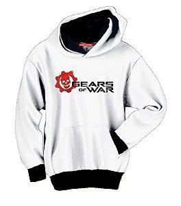 Blusa com Capuz Gears of War