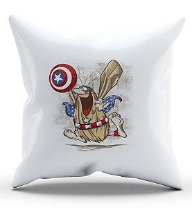 Almofada Decorativa  Capitão Caverna - Nerd e Geek - Presentes Criativos