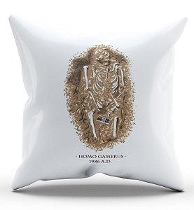 Almofada Decorativa  Homo Gamerus - Nerd e Geek - Presentes Criativos