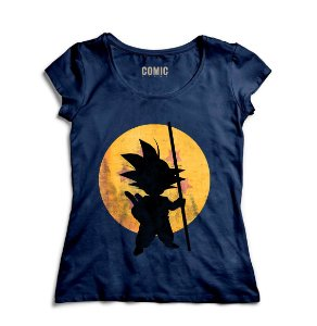 Camiseta Feminina Dragon Ball - Goku - Nerd e Geek - Presentes Criativos