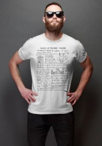 Camiseta Masculina  Theory of Relativity Space Time - Nerd e Geek - Presentes Criativos