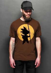 Camiseta Masculina  Dragon Ball - Goku - Nerd e Geek - Presentes Criativos