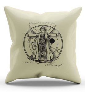 Almofada Decorativa  Doctor Who - Nerd e Geek - Presentes Criativos