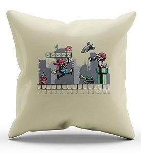 Almofada Decorativa  Super Mario - Fase - Nerd e Geek - Presentes Criativos