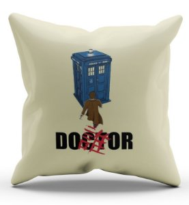 Almofada Decorativa  Doctor 45 x 45 - Nerd e Geek - Presentes Criativos