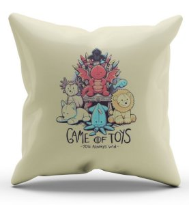 Almofada Decorativa  Stranger of Toys - Nerd e Geek - Presentes Criativos