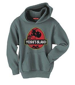 Blusa com Capuz a Yoshi Island