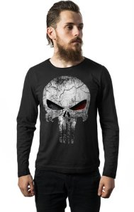 Camiseta Manga Longa Justiceiro
