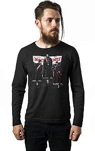 Camiseta Masculina  Manga Longa Killers - Nerd e Geek - Presentes Criativos